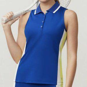 Women's Fila Acqua Sleeveless Tennis Polo NWOT